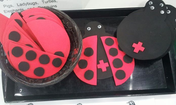 LADYBUG MATH - cute idea for a Math center about addiction facts