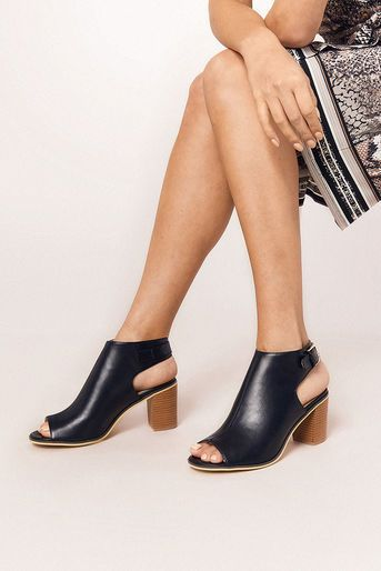 ba0b3a4aae0e Oasis, PIPER PEEPTOE SHOES Black | ♛ Smart Casual ♛ To Buy @ Oasis ...