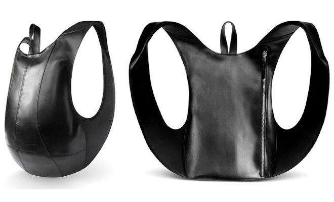 Fusion Ultimate Black backpack designed by Jérôme Olivet