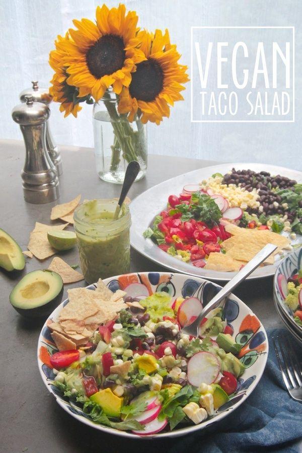 Vegan Taco Salad // shutterbean @shutter