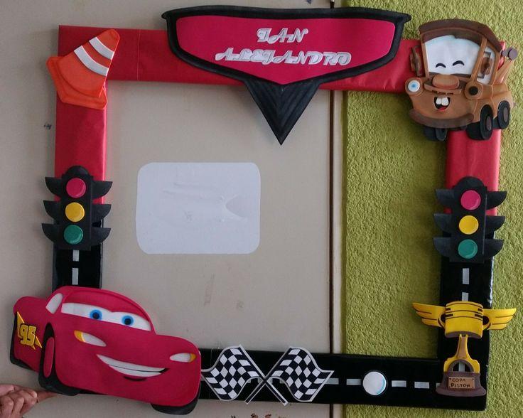 Cars cuadro para fotos manualidades pinterest - Cuadros de fotos ...