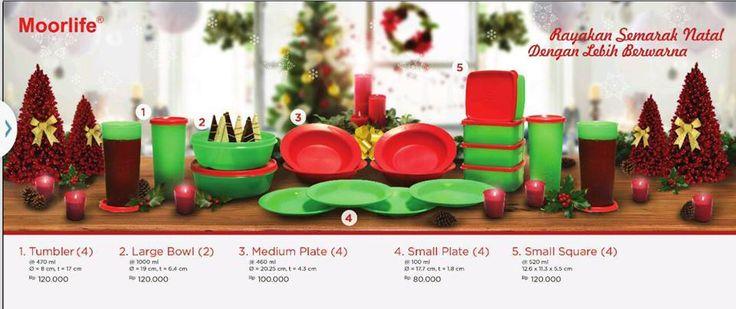 Moorlife Paket Natal 2014 Kombinasi terdiri dari 5 set yang berbeda