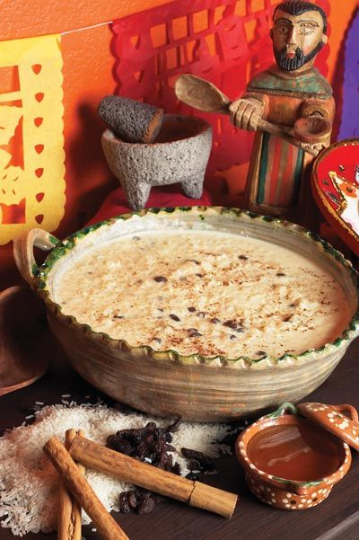 """Grandmas Honey Rice Pudding - Rice (try sub with millet, quinoa, other whole grain), milk (try with """"allowed"""" milk, maybe non-dairy too), cinnamon, egg, vanilla, honey."""