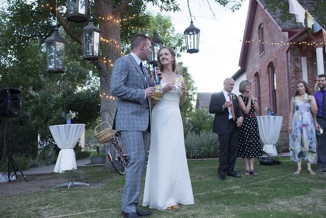Four Mile Historic Park wedding by carnefox, via Flickr #unique #rustic #outdoor #country #wedding #Denver #Colorado