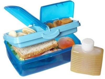 Sistema pojemnik śniadaniowy lunch box dwa poziomy