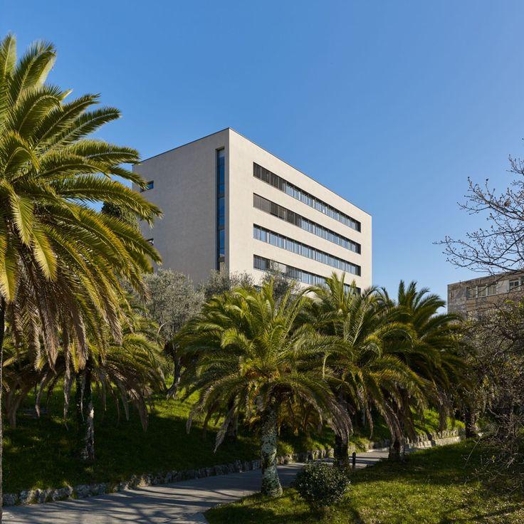 Réhabilitation Laboratoires d'Astrophysique Fizeau Parc Valrose à Nice (D Boy de la Tour photos)