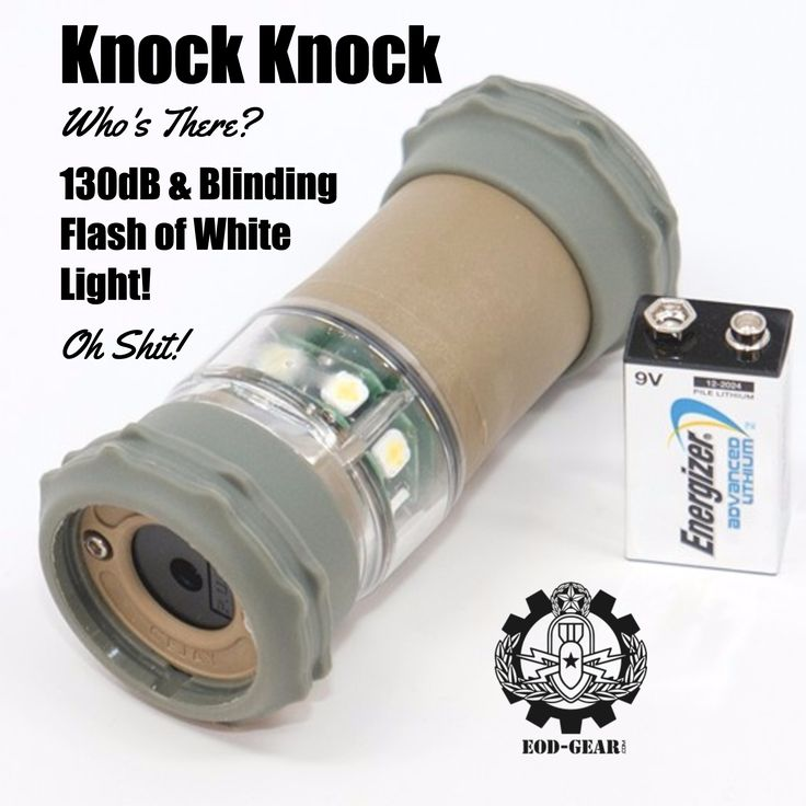 Knock Knock / Who's There? / 130dB & Blinding Flash of White  Light! / Oh Shit!