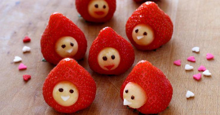 Recette - Bonhommes fraises en pas à pas