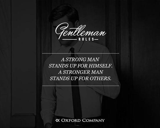 Gentlleman Rules! Σε τέτοιες περιπτώσεις η δύναμη είναι που μετράει!