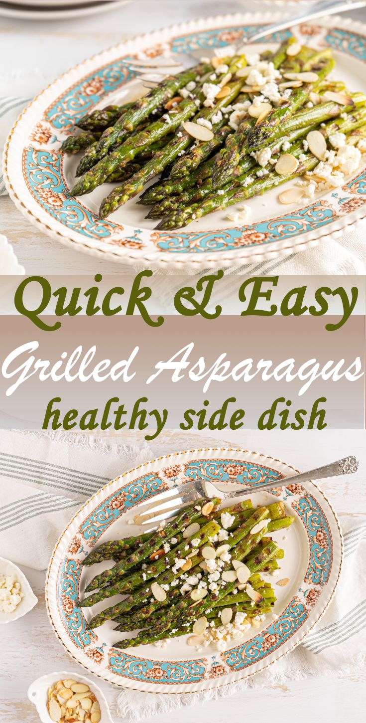 Try this simple and delicious Grilled Asparagus recipe that is ready in 10 minutes! It's a quick side dish that's perfec…