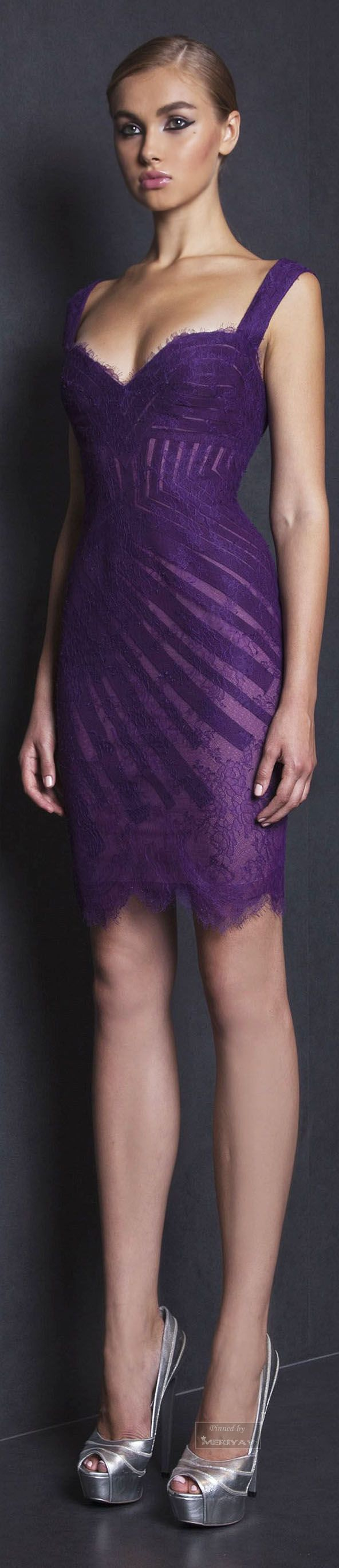 Sexy Cocktail dress..Tony Ward Spring-summer 2015.