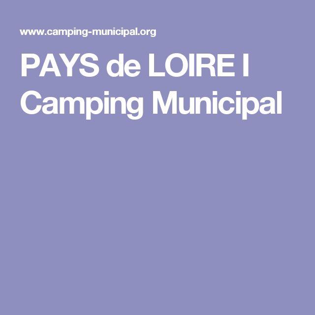 PAYS de LOIRE I Camping Municipal