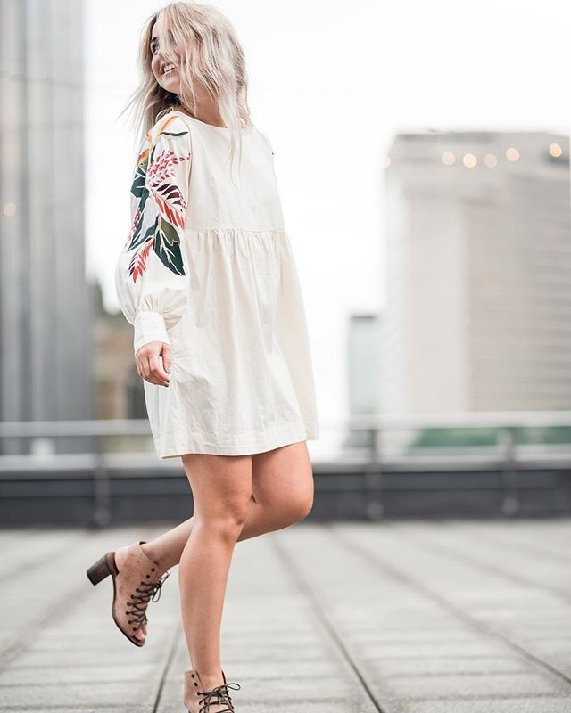 """Free People Atlantic on Instagram: """"Dancing into the weekend like  #freepeople #MiniObsessionsDress"""""""