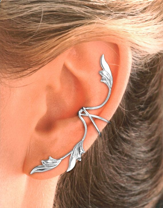 Hey, I found this really awesome Etsy listing at https://www.etsy.com/listing/108105717/full-ear-3-leaf-ear-cuff-earring-in