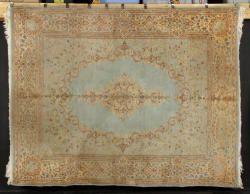 7082 - Semi-Antique Persian Kerman Carpet Autumn Estate Auction   Official Kaminski Auctions