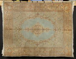 7082 - Semi-Antique Persian Kerman Carpet Autumn Estate Auction | Official Kaminski Auctions