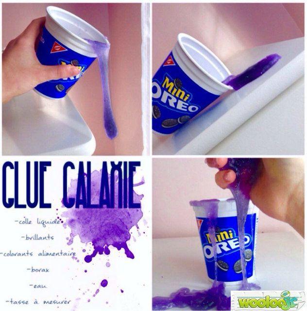 Une recette de Glue Galaxie!