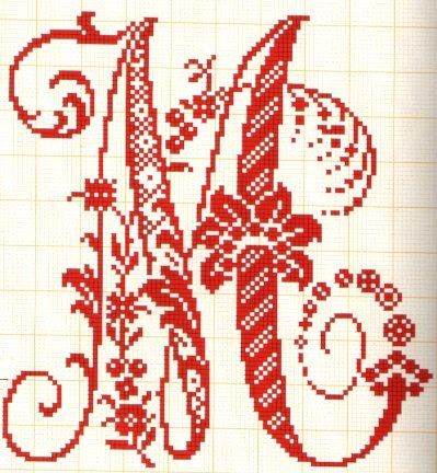 wonderfull letters for crochet or embroidery