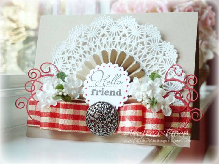 CASE Study...Hello Friend by AndreaEwen - Cards and Paper Crafts at Splitcoaststampers