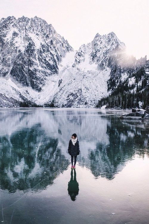 Winter moments outdoors