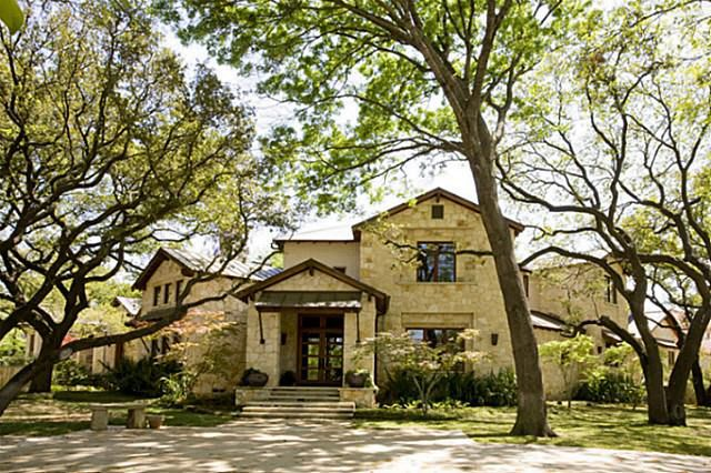 Texas Hill Country home exterior--perfect!