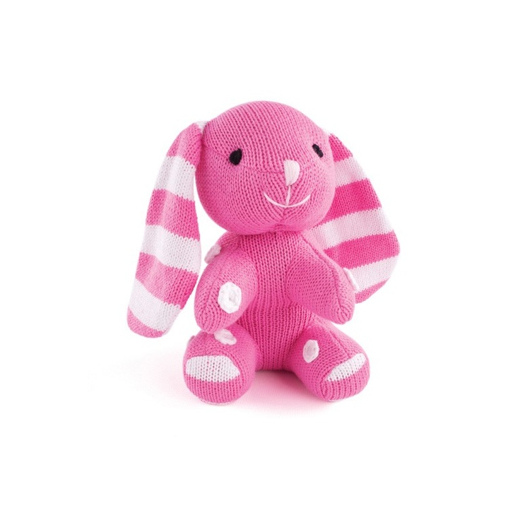 Rabbit - Pink  http://www.pennyscallan.com.au/toys/cuddlies/cuddlies-small.html