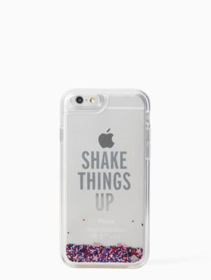 shake things up liquid glitter iphone 6 case | Kate Spade New York