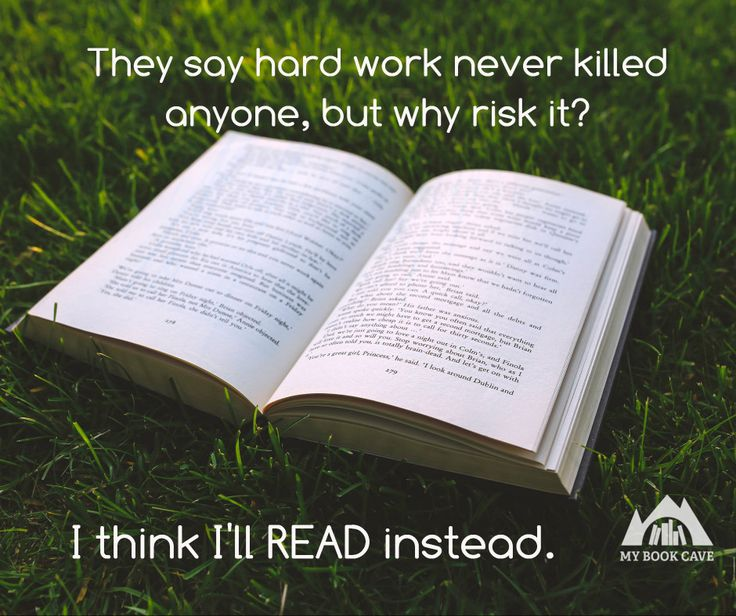 Why take the chance? Just read! #booklover #bookworm