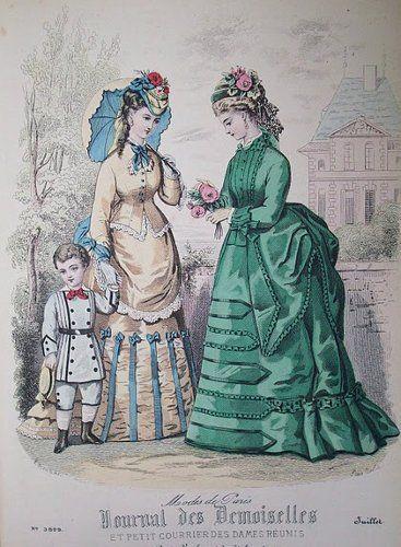 July 1873 Journal des Demoiselles