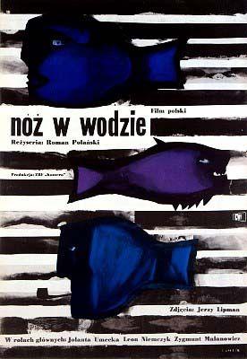 "Jan Lenica  1962 – ""Knife in the Water"", Poland. Directed by Roman Polanski."