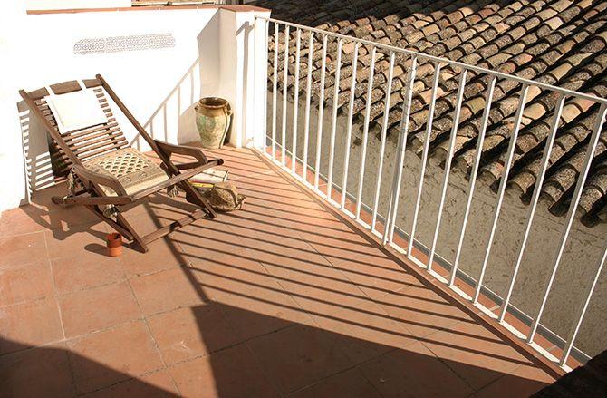 Navidad Terrace in Alhama de Granada Andalucia