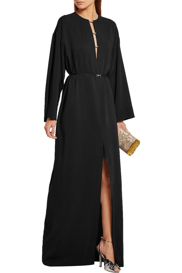 Shop on-sale Lanvin Swarovski crystal-embellished stretch-crepe gown. Browse other discount designer Dresses & more on The Most Fashionable Fashion Outlet, THE OUTNET.COM