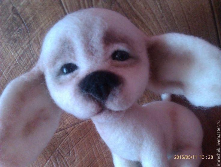 Купить Щенок чихуахуа Малыш - чихуахуа, щенок, собака, игрушка из шерсти, войлочная игрушка