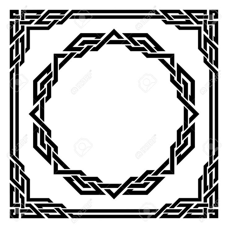Celtic Border Images Stock Pictures Royalty Free Celtic