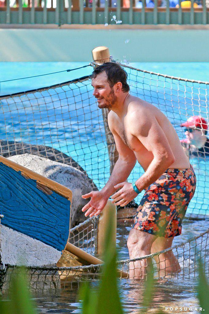 Chris Pratt Shirtless and Anna Faris in a Bikini in Hawaii | POPSUGAR Celebrity