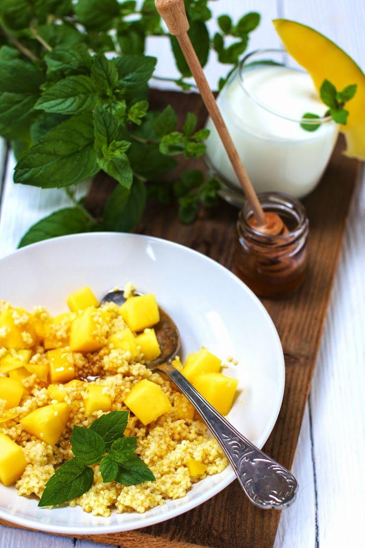 Kasza jaglana z mango