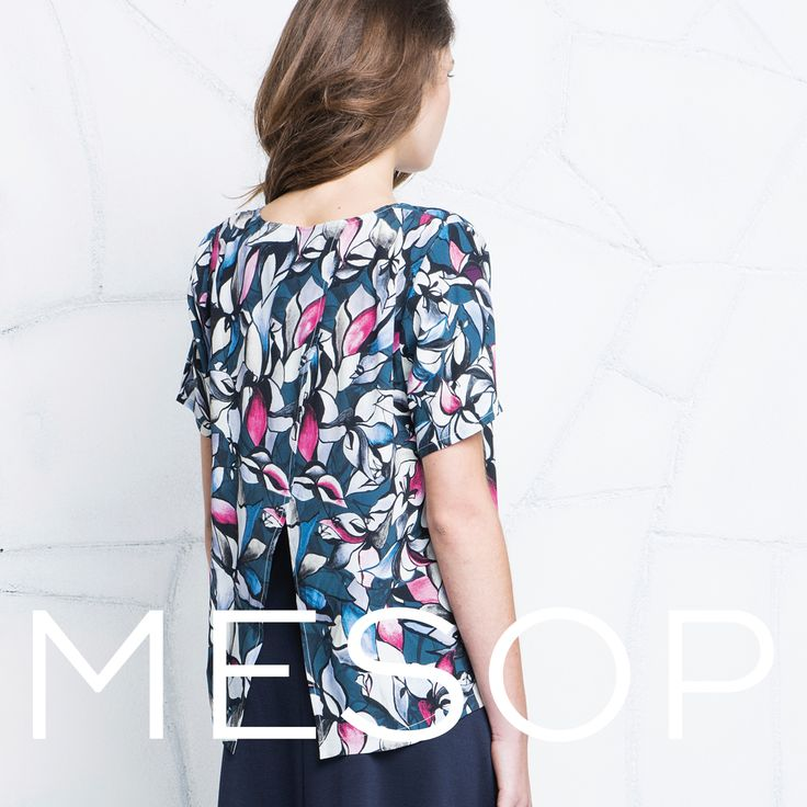 Mesop Vintage Bloom Tee | Autumn 2016 Collection 'Elemental'  www.mesop.com