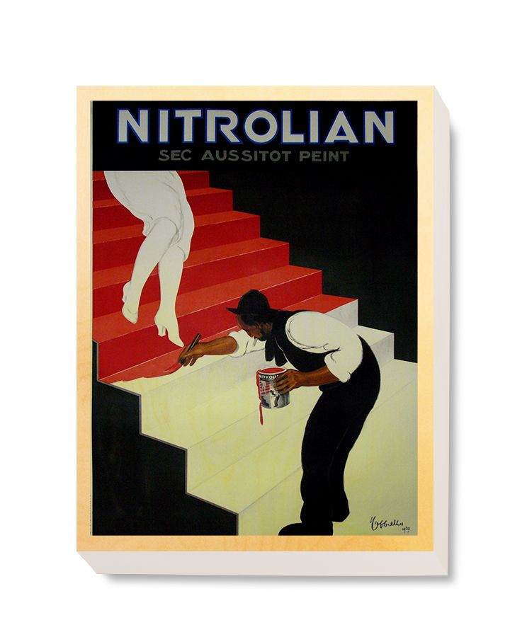 ADV 090 Advertising Art Nitrolian Peint