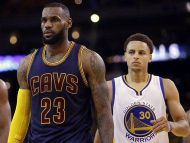 Stephen Curry said LeBron James 'is a great... #StephenCurry: Stephen Curry said LeBron James 'is a great influence' as an… #StephenCurry
