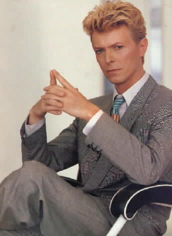 David Bowie is uniquely beautiful.