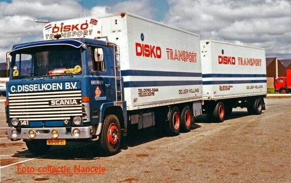 Scania LBS 141 koelcombinatie van Disko Transport De Lier