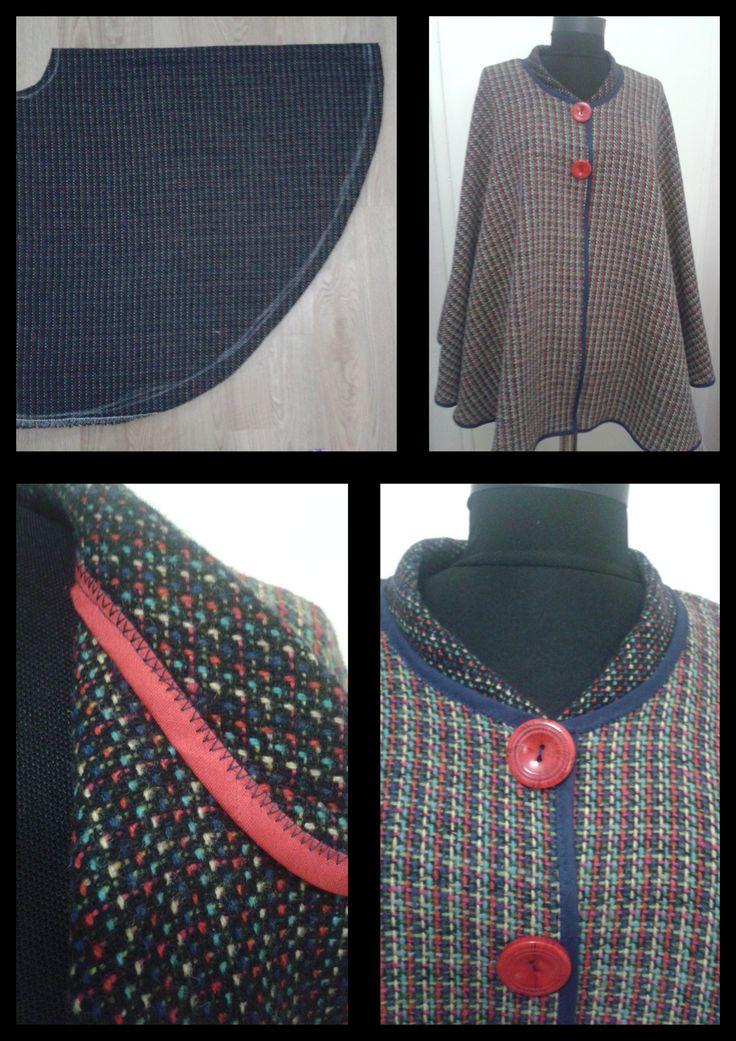 sewing easy cape- kolay panço dikimi