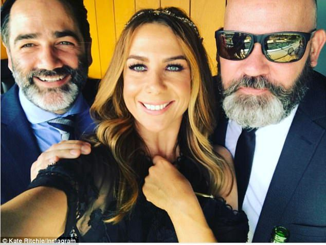 'A rose between two beards': she took shared a selfie post with herself in between Nova br...