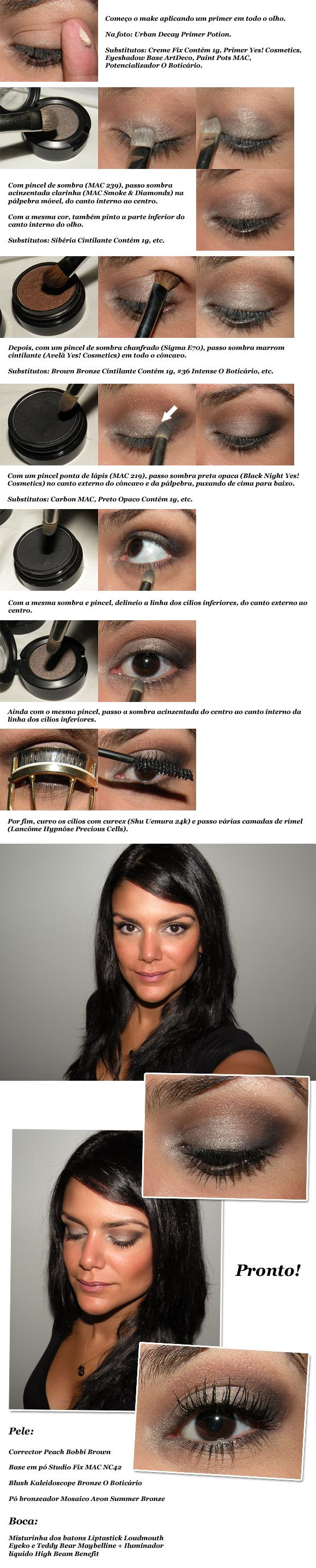 Neutral make-up tutorial. I can't go with out some form of liner. But it's pretty