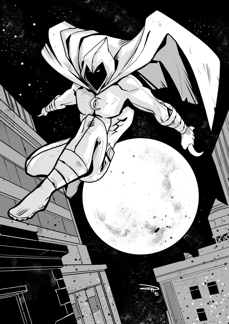 Moon Knight by DenisM79.deviantart.com on @DeviantArt