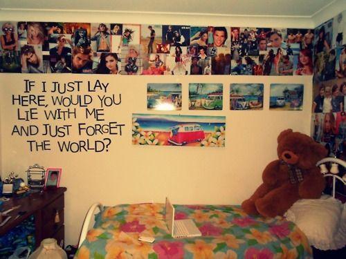 14 best Tumblr room images on Pinterest | Dream bedroom, Dream rooms ...