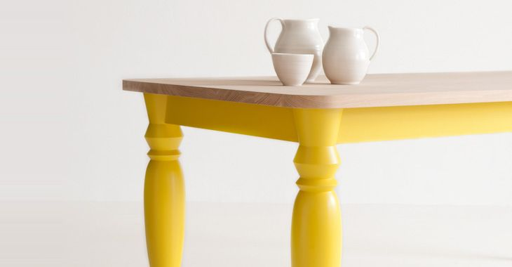 Mrs B table by Russell Pinch. Benchmark Furniture
