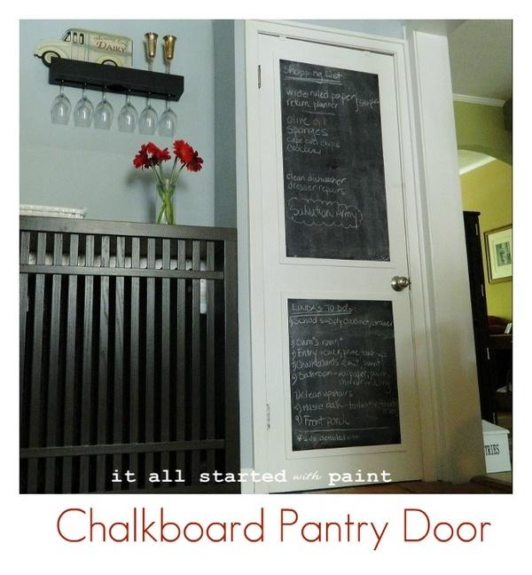 1000 images about interior door redo on pinterest for Chalk paint door