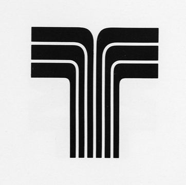 The Transamerica logo from the 1970s, appended to the logos of United Artists, Blue Note Records and a number of other companies in entertainment before TA divested them and changed its logo to show their iconic pyramid-shaped HQ in San Francisco, CA.