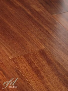 """There is not a better looking floor on the planet. If you are looking for a dark brown floor with plenty of excitement, this is it! This floor is not stained but naturally has this amazing color.  Available for a limited time only.  3 3/4"""" Width 3/4"""" Thickness Unbelievable Color and Character Clear Grade Random Lengths Up to 6' Precision Milling 25 Year Warranty on the Finish Lifetime Warranty on the Structure"""